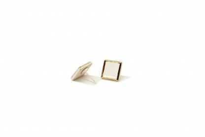 minimalistiniai ranku darbo auskarai glossy boxes medium clayometry